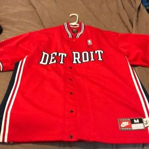 Vintage 2004 NBA Detroit Pistons Shooting Jacket